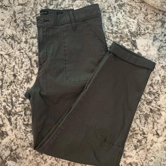 Lucky Brand Denim - LUCKY 🍀 BRAND The Cargo Dark Grey crop pants